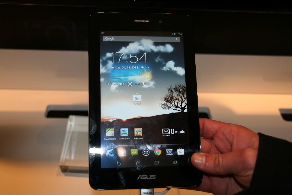 [MWC 2013] Prise en main de la tablette Asus FonePad
