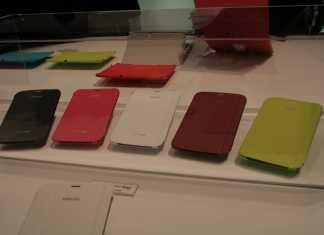 [MWC 2013] Une petit tour du côté des accessoires Samsung pour tablettes et smartphones 1