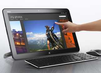 Une tablette PC de 18.4 pouces sous Windows 8 chez Dell : le XPS 18 All-In-One 2