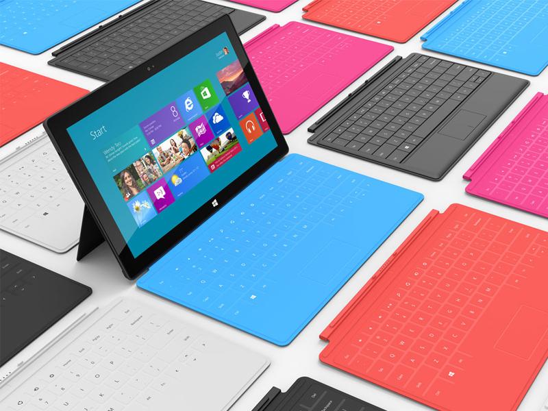 Tablette Microsoft Surface RT et Pro : un flop ?