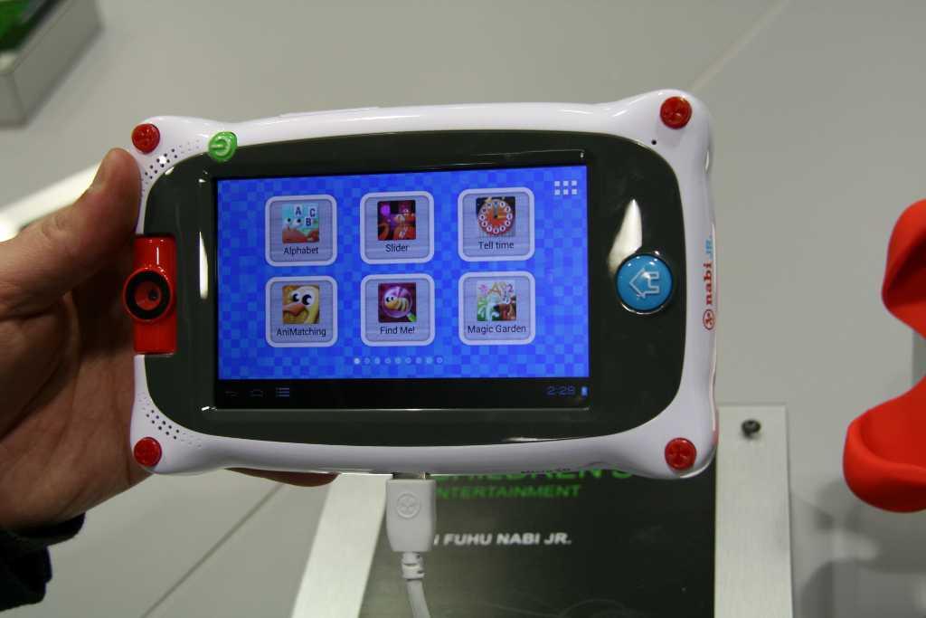 [MWC 2013] Prise en main de la tablette enfant Fuhu Nabi Junior