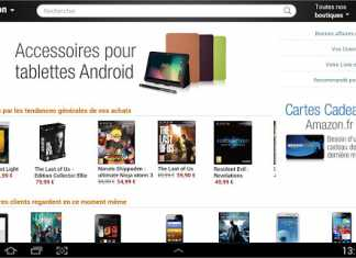 Amazon lance l'application Amazon Mobile destinée aux tablettes Android 3