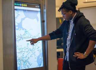 La ville de New-York installe des écran tactiles interactifs pour se déplacer dans le métro  1