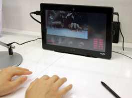 Fujitsu travaillerait sur un clavier virtuel sans touches 1