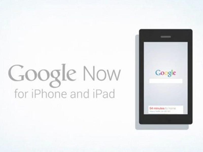 L'application Google Now va être disponible sur iPhone et iPad