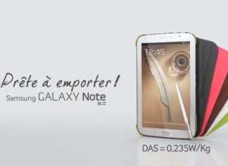 La tablette Samsung Galaxy Note 8 disponible en précommande sur le site de la Fnac.com 1