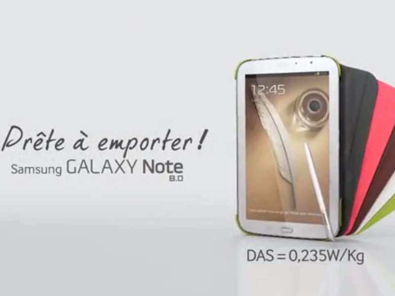 La tablette Samsung Galaxy Note 8 disponible en précommande sur le site de la Fnac.com