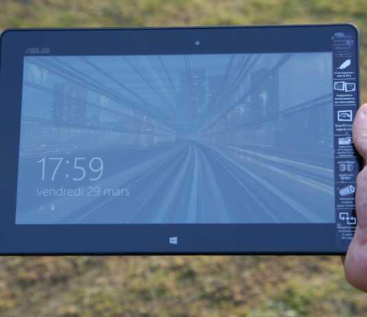 Test de la tablette Asus VivoTab Smart 1