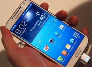 Prise en main du Samsung Galaxy S4 7