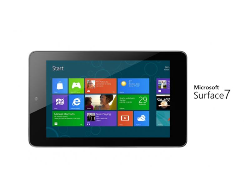 microsoft travaillerait une tablette surface au format 7. Black Bedroom Furniture Sets. Home Design Ideas