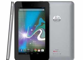 La HP Slate 7 est disponible en précommande à149 euros