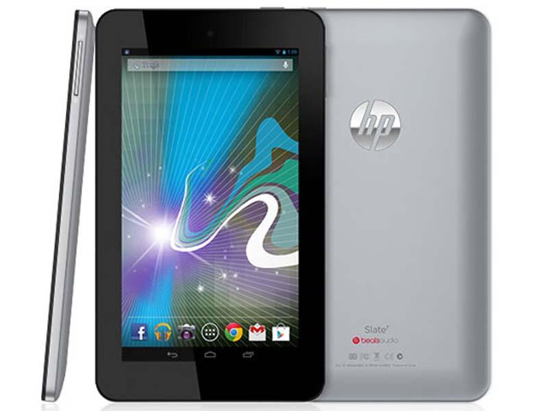 La HP Slate 7 disponible pour 149 euros