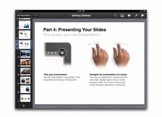 Faites vos présentations sur iPad ! 1