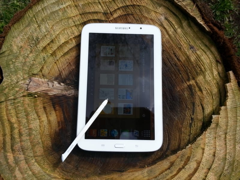 Test tablette Samsung Galaxy Note 8.0