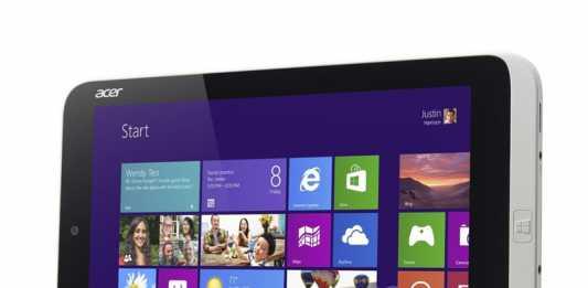 Acer Iconia W3, la première tablette de 8.1 pouces sous Windows 8 ?  1