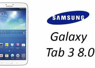Une première photo et les caractéristiques de la Samsung Galaxy Tab 3 8.0 2