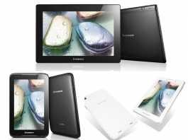 Présentation et prix des Lenovo IdeaTab S6000, A3000 et A1000 4