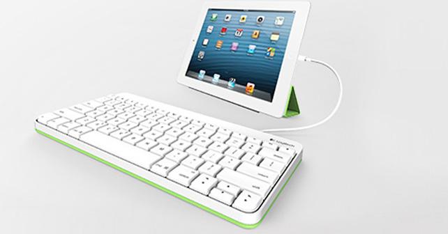 Un clavier filaire pour iPad chez Logitech 3