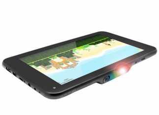Lumitab, une tablette Android équipée d'un projecteur ! 1