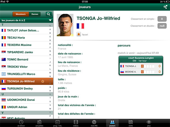 Application Page Jaune Iphone