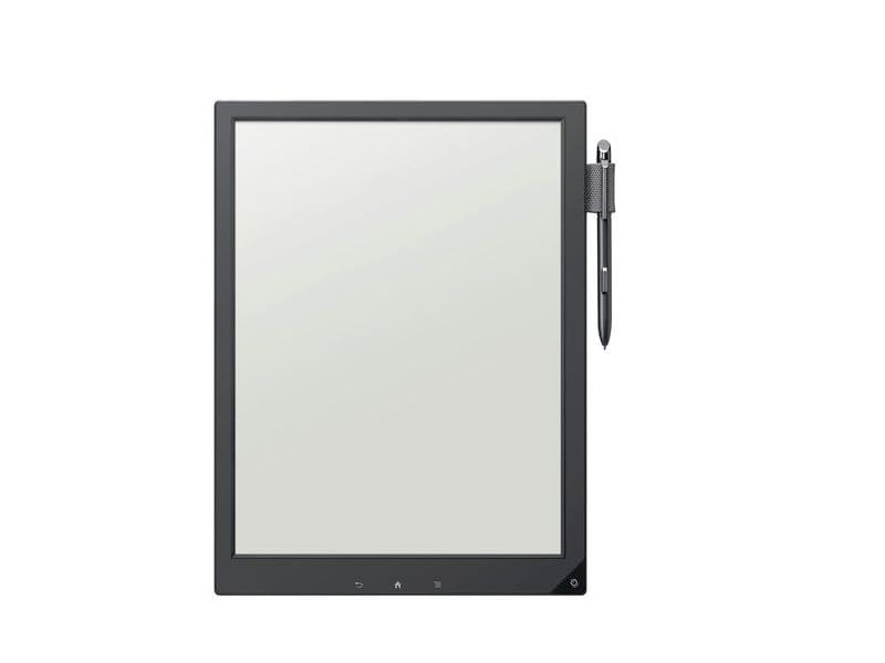 Démonstration vidéo pour le prototype de cahier à encre électronique de Sony