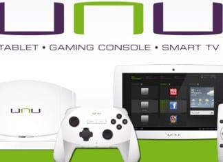 Unu, le premier système tablette/console de jeu/Smart TV disponible cet année