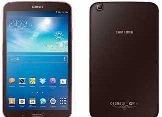 Une version marron brun pour les tablette Samsung Galaxy Tab 3 1