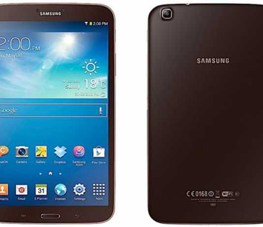 Une version marron brun pour les tablette Samsung Galaxy Tab 3 1