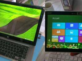 Prise en main des Acer Aspire R7 et Iconia W3 12