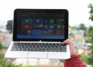 Test tablette HP Envy X2  2