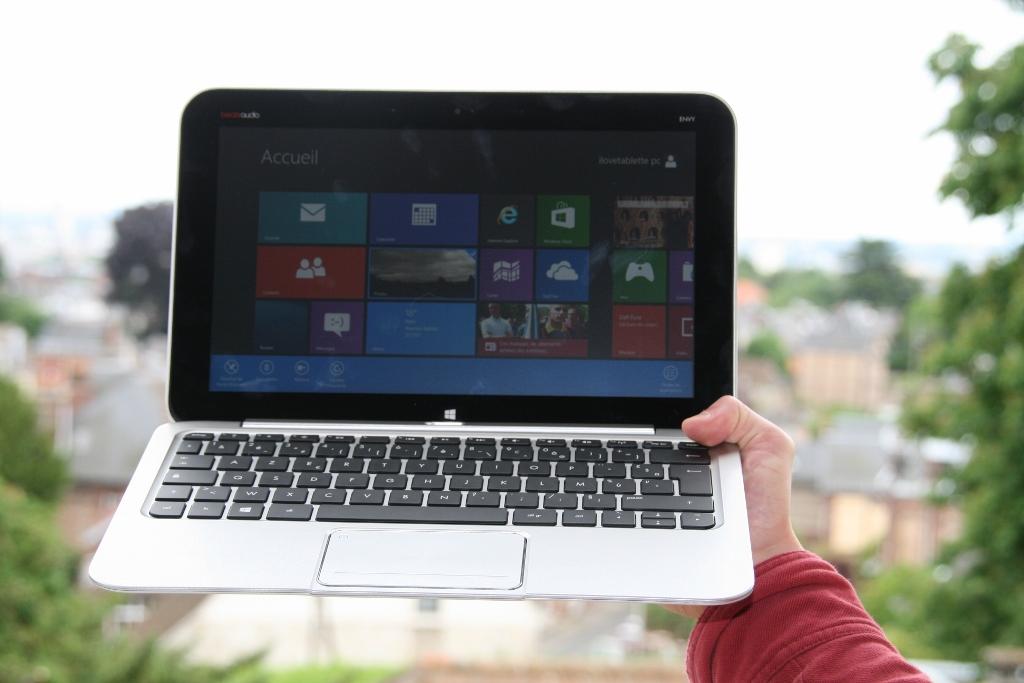 Test tablette HP Envy X2