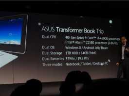 Asus présente les tablettes MeMO Pad HD 7 et MeMO Pad FHD 10 5