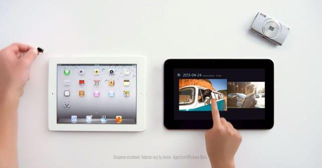 Microsoft tacle l'iPad dans sa nouvelle vidéo promotionelle