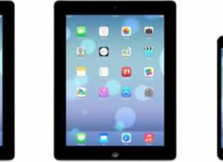 Premières images d'iOS 7 sur iPad 5