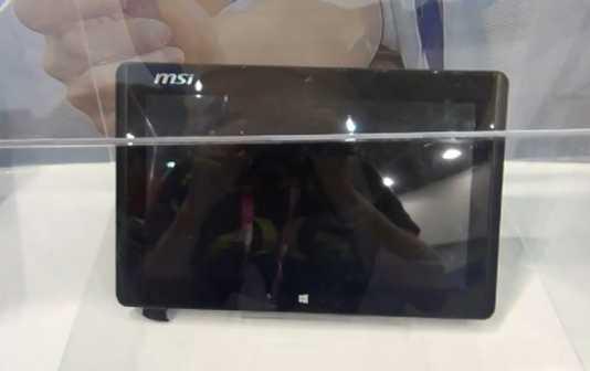 MSI W20: une tablette de 11 pouces sous Windows 8 1