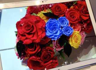 Un prototype de tablette à écran 4k chez Panasonic 3