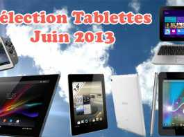 Notre sélection des meilleures tablettes Juin 2013 6