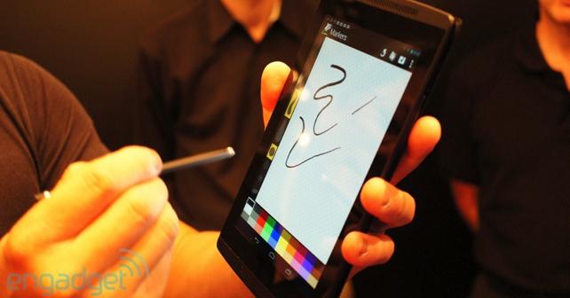 NVidia présente un nouveau type de stylet compatible avec le Tegra 4