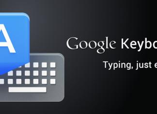 Le clavier Google disponible en téléchargement sur le Google Play 3