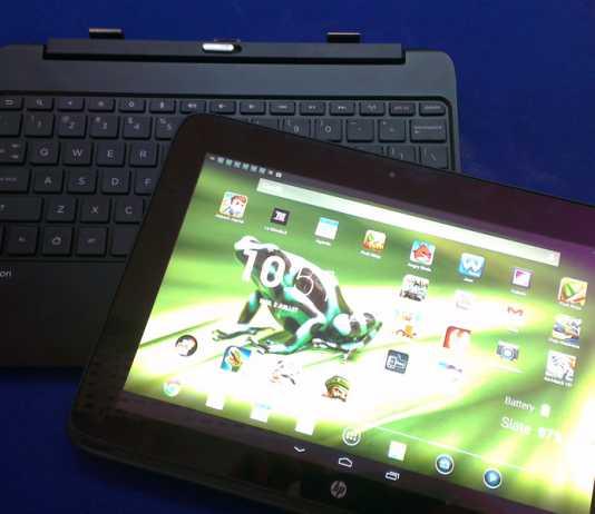 Prise en main de la tablette HP SlateBook X2 5
