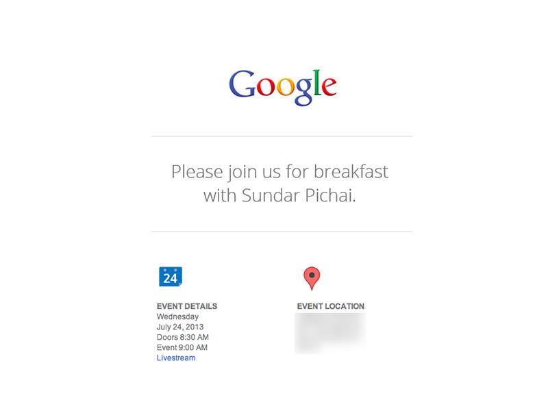 Suivez la conférence Google en direct sur iLoveTablette.com et découvrez les nouveautés à venir !