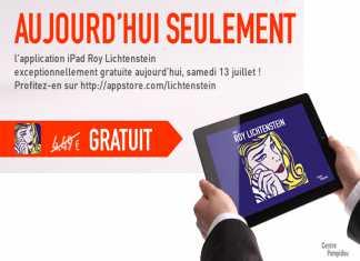 L'application iPad Roy Lichtenstein gratuite aujourd'hui seulement sur l'App Store ! 4