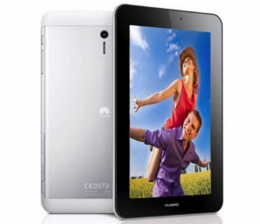 Huawei dévoile la MediaPad 7 Youth, une tablette de 7 pouces sous Android