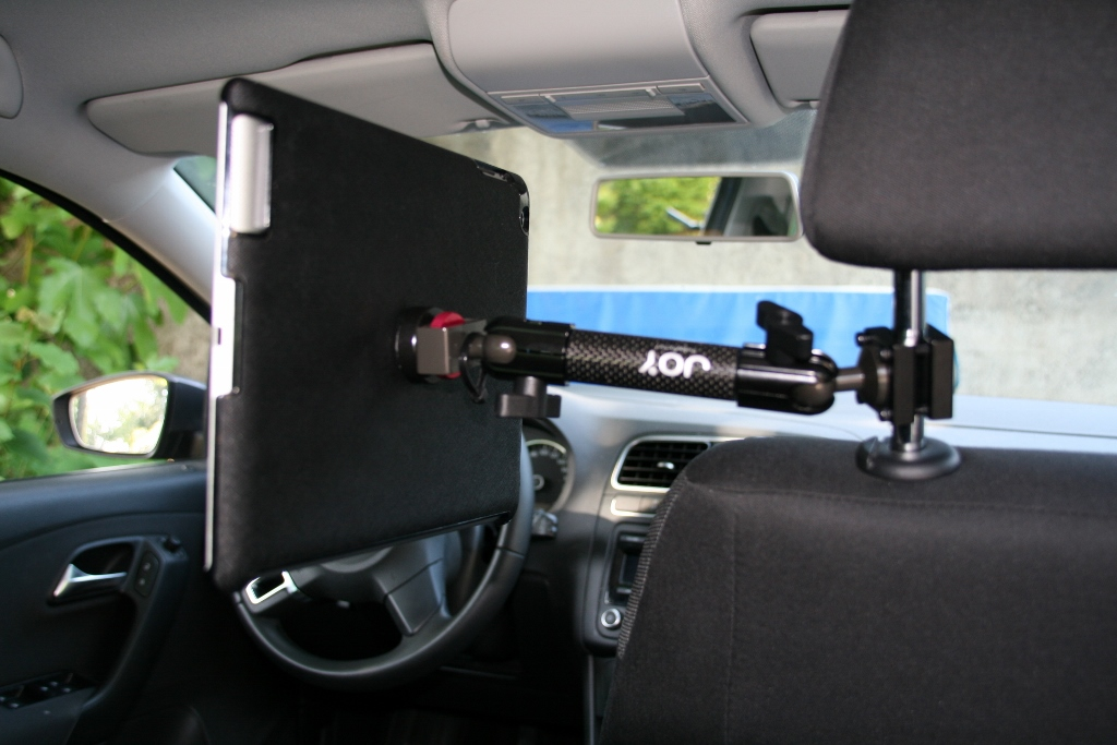 Support voiture universel tablette pour appui tête olixar