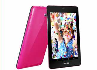 La tablette Asus Memo Pad HD 7 sera disponible fin Juillet à 169 €
