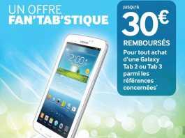 [Soldes] La Samsung Galaxy Tab 3 8 pouces à 289€