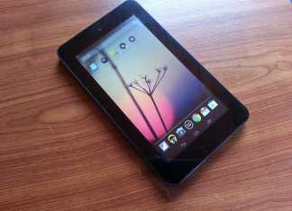 Test de la tablette HP Slate 7  3