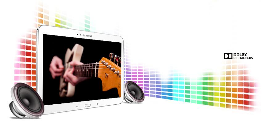 Galaxy-Tab-3-audio-haut-parleurs