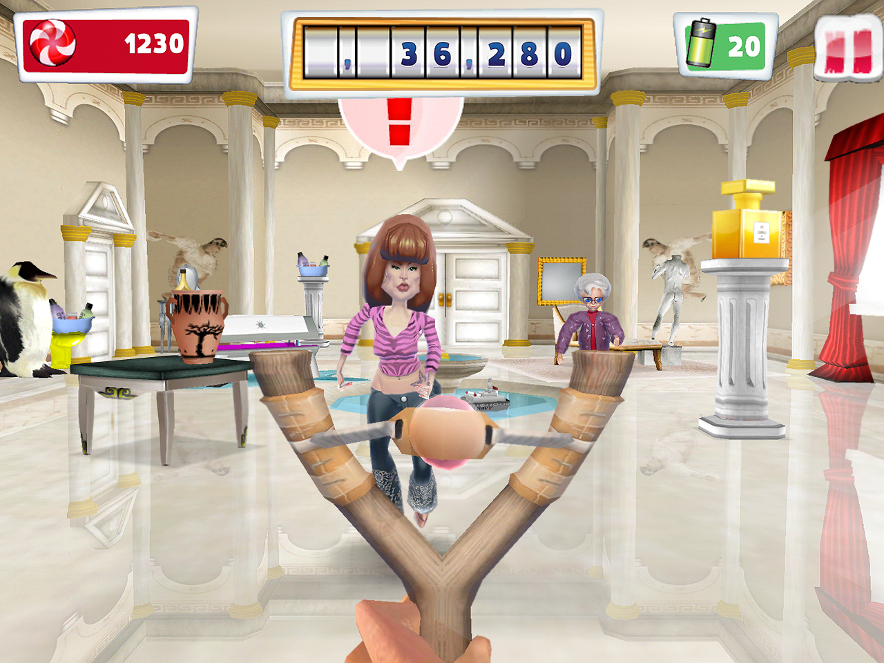Sale gosse le plus fun des jeux de lance pierre est - Jeux de lance pierre ...