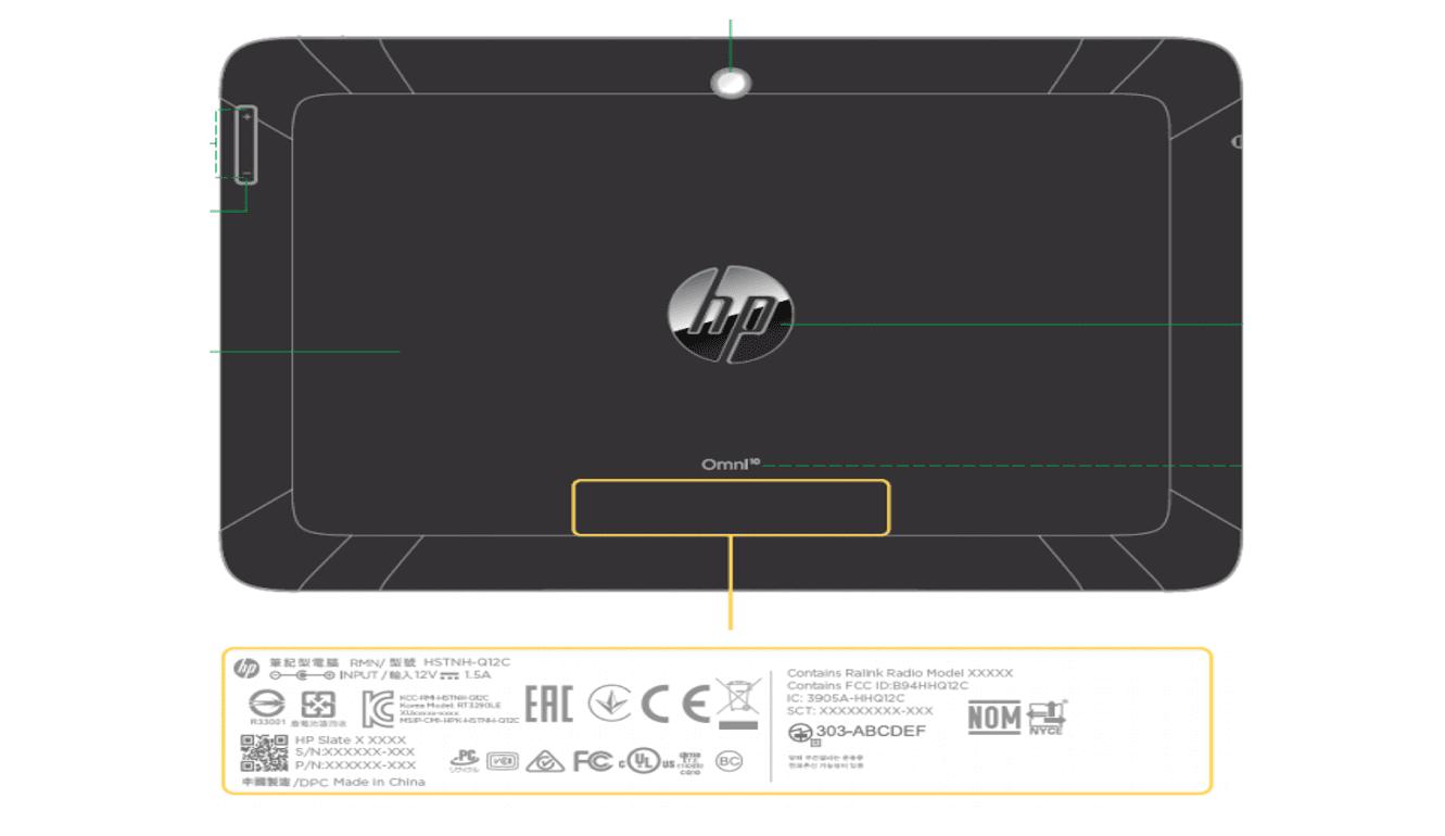HP Omni 10 : la tablette HP Slate 10 en version professionnelle  ?
